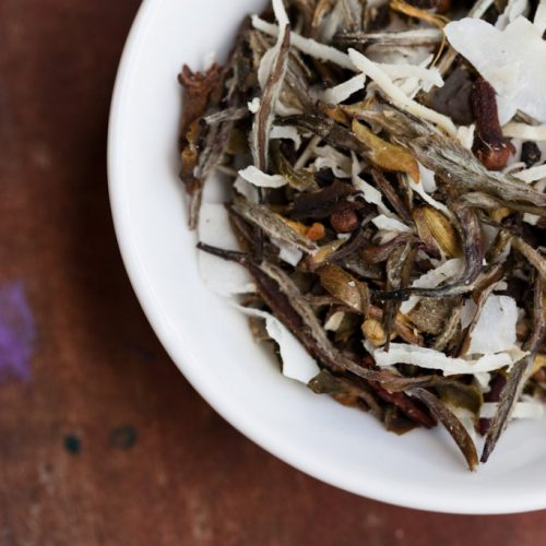 white tea with chai spices